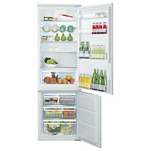 Buy Hotpoint HMCB7030AADF Integrated Frost Free Fridge Freezer, A+ Energy Rating, 54cm Wide, White Online at johnlewis.com