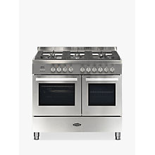 Buy Britannia Stanza RC-10TG-ST Dual Fuel Range Cooker Online at johnlewis.com