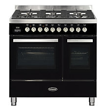 Buy Britannia Stanza RC-9TG-ST Dual Fuel Range Cooker Online at johnlewis.com