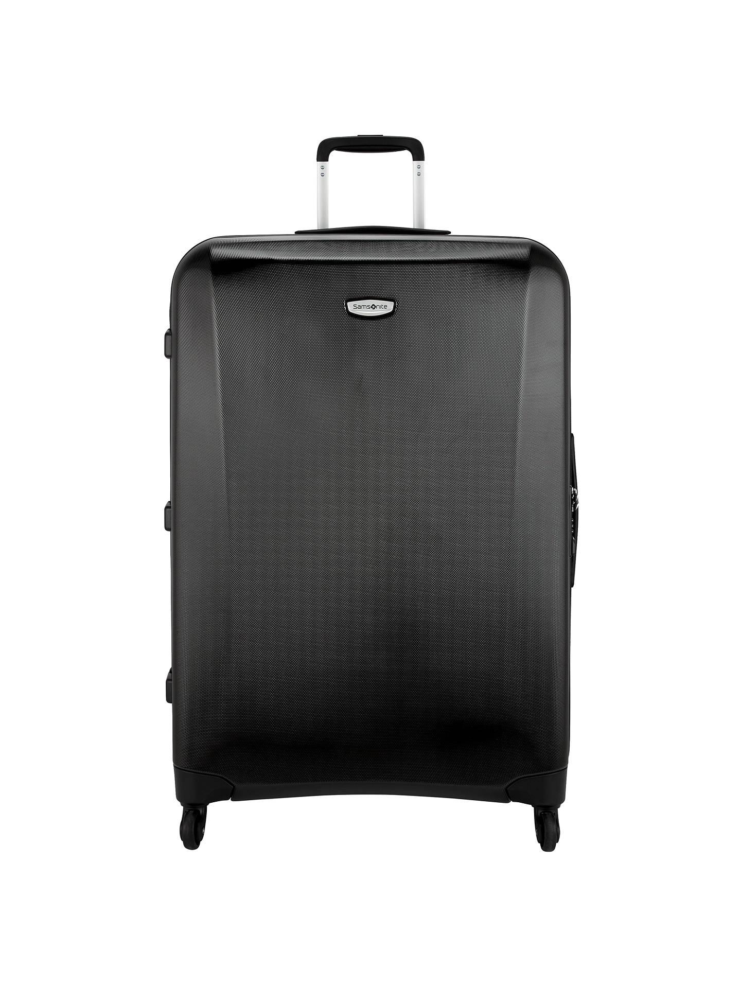 b1c346e57 Buy Samsonite Klassik 82cm 4-Wheel Spinner Suitcase, Black Online at  johnlewis.com ...