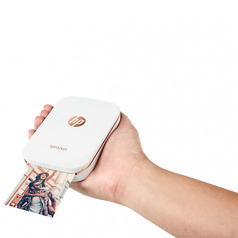 Buy HP Sprocket Portable Photo Printer Online at johnlewis.com