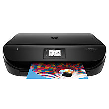 Buy HP Envy 4527 Wi-Fi All-in-One Printer, Black Online at johnlewis.com