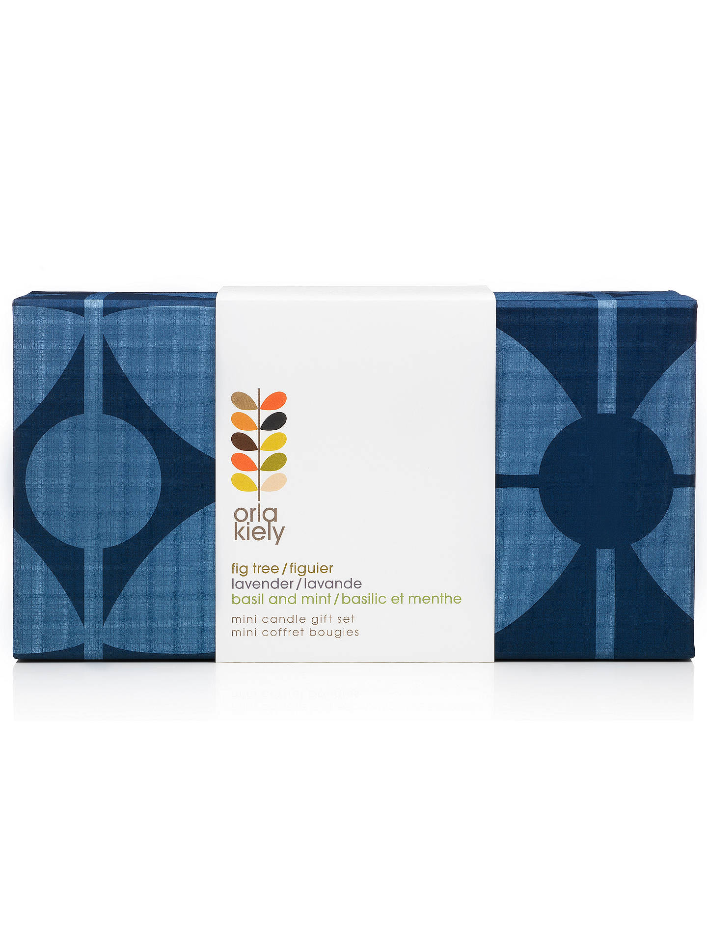 Buy Orla Kiely Sixties Stem Mini Candle Gift Set, Set of 3 Online at johnlewis.com