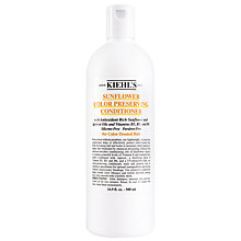 Buy Kiehl's Sunflower Colour Preserving Conditioner Online at johnlewis.com