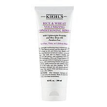 Buy Kiehl's Rice & Wheat Volumising Conditioning Rinse, 200ml Online at johnlewis.com