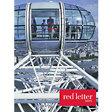Buy Red Letter Days Lunch Cruise and London Eye For 2 Online at johnlewis.com