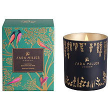 Buy Sara Miller White Tea, Bergamot and Mint Scented Candle Online at johnlewis.com