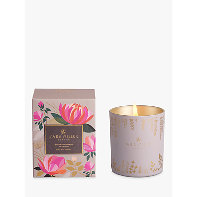 Sara Miller Jasmine, Lemongrass and Ginger Scented Candle