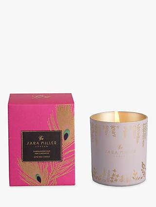 Sara Miller Sandalwood, Oud and Cardamon Scented Candle