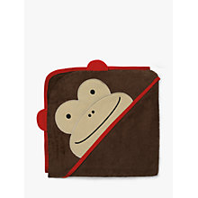 Buy Skip Hop Baby Monkey Hooded Towel Online at johnlewis.com