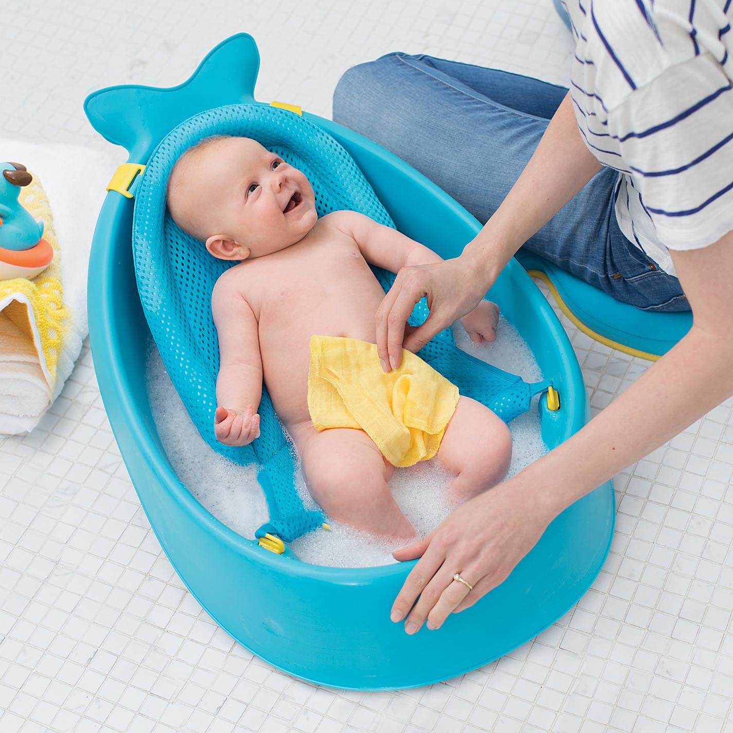 Buy Skip Hop Moby 3 Stage Baby Bath Tub | John Lewis