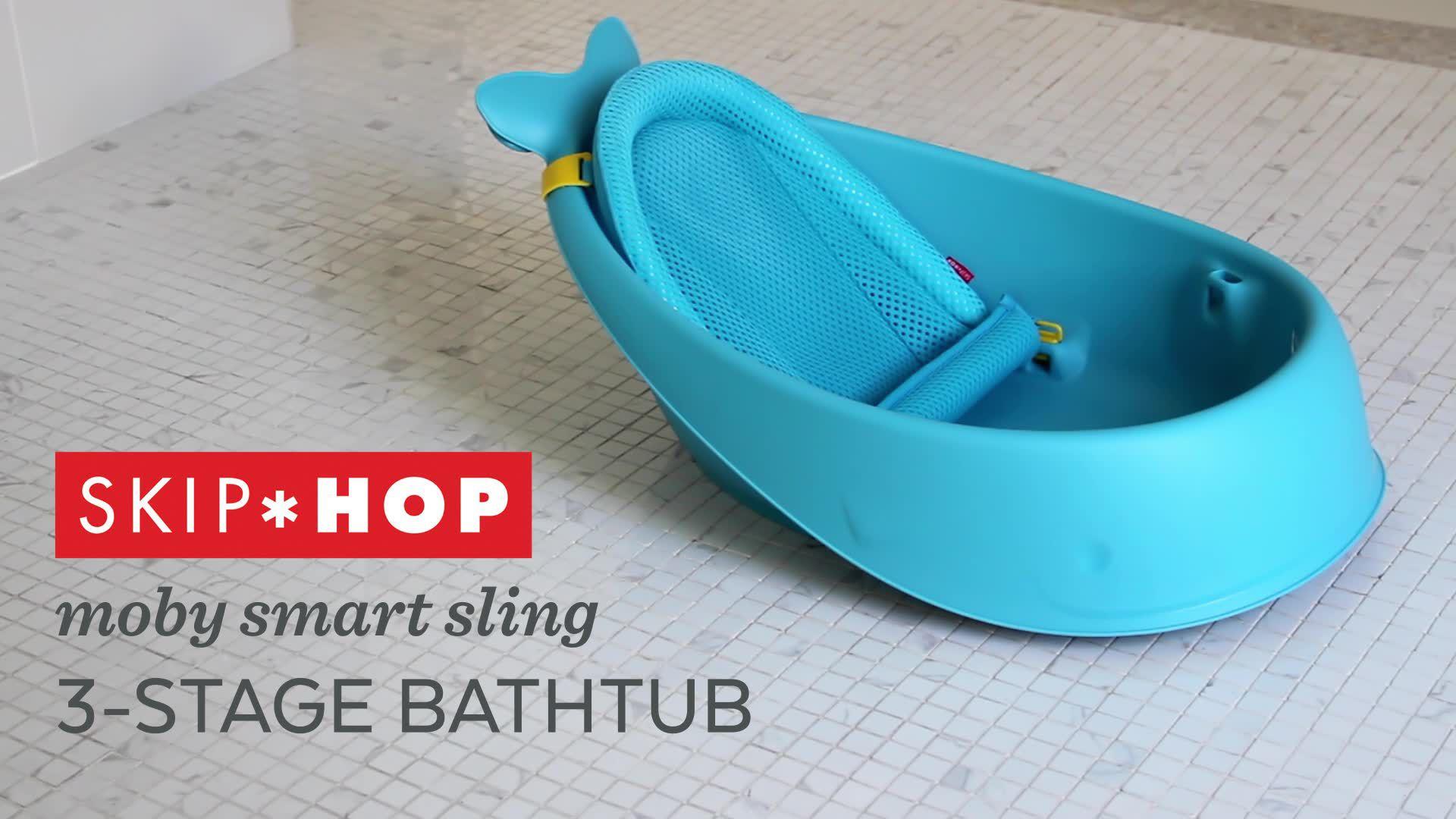 da97b4ebfb9 Skip Hop Moby 3 Stage Baby Bath Tub
