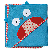 Buy Skip Hop Baby Owl Hooded Towel Online at johnlewis.com