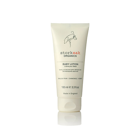 Buy Storksak Organics Baby Lotion, 100ml Online at johnlewis.com
