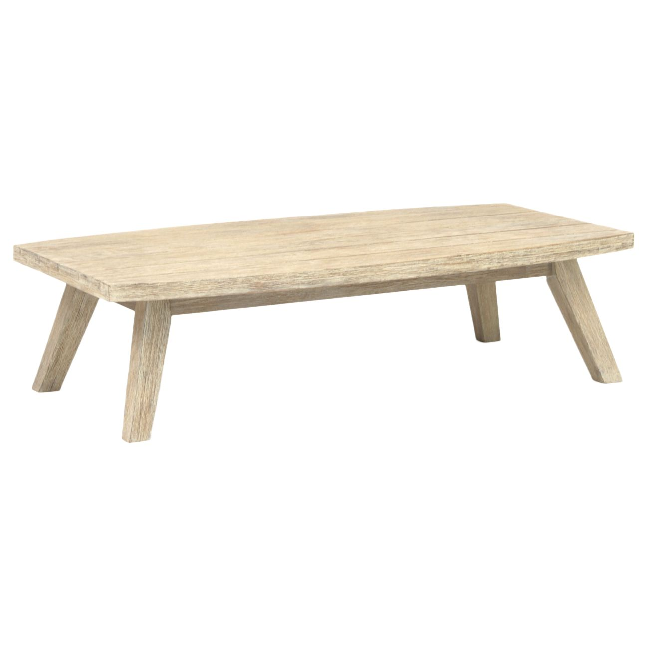 Kettler KETTLER Cora Garden Coffee Table, FSC-Certified (Acacia), Smoke White
