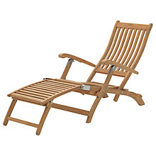 Buy KETTLER RHS Wisley Steamer Chair, FSC-Certified (Teak), Natural Online at johnlewis.com