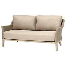 Buy KETTLER Cora Lounging 3 Seater Sofa, FSC-Certified (Acacia), Whitewash Online at johnlewis.com