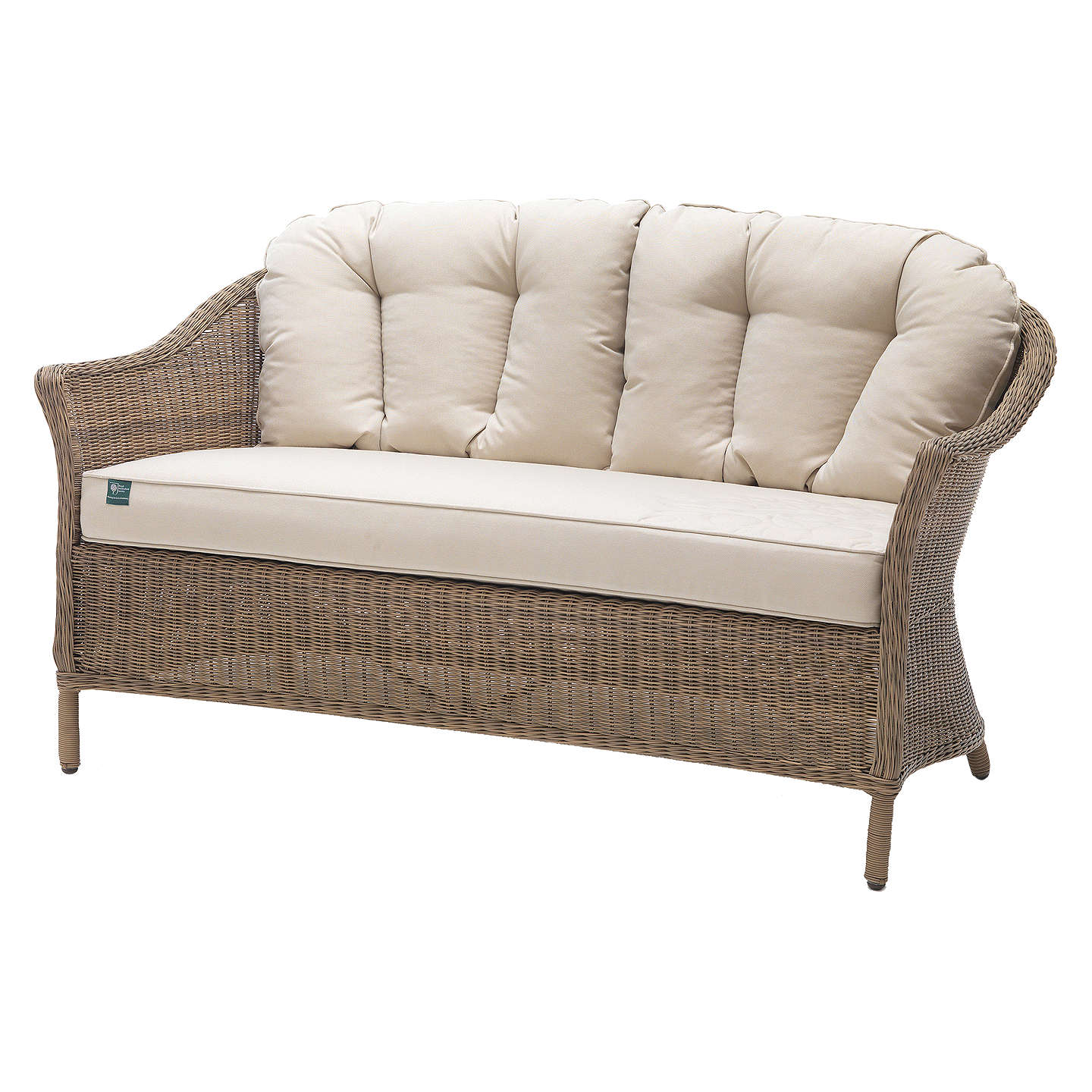 BuyKETTLER RHS Harlow Carr 2 Seater Sofa, Natural Online At Johnlewis.com  ...