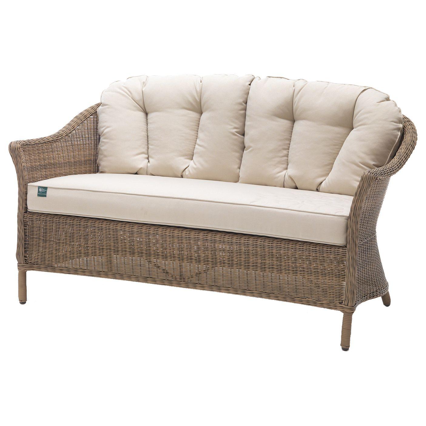 Kettler KETTLER RHS Harlow Carr 2 Seater Sofa, Natural