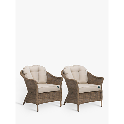 KETTLER RHS Harlow Carr Lounging Armchair, Set of 2, Natural