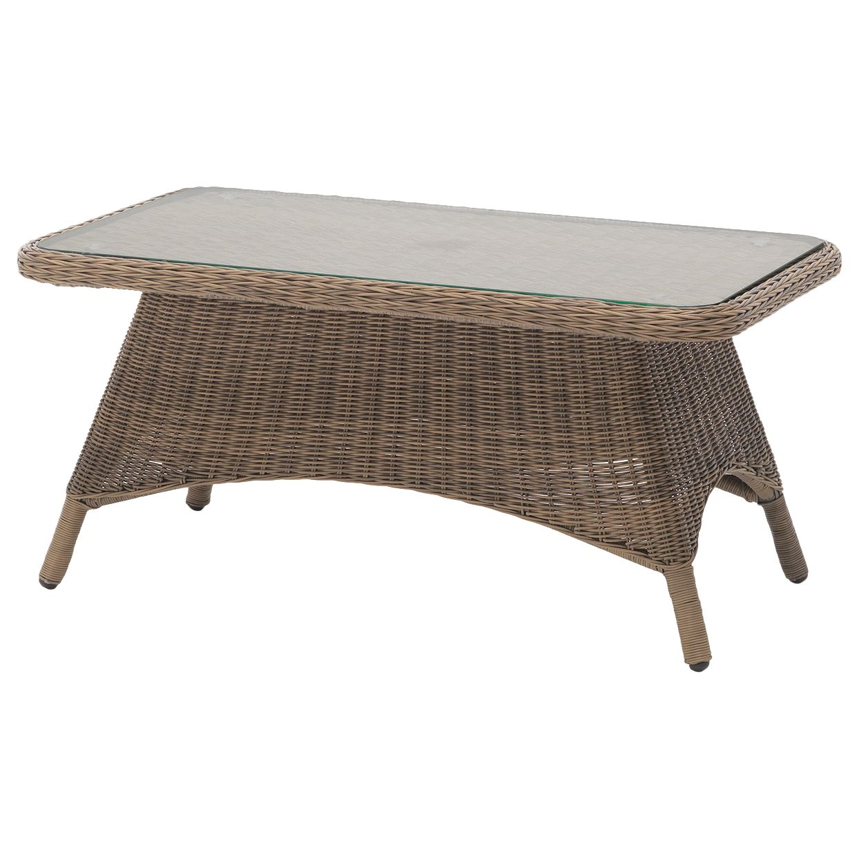 Kettler KETTLER RHS Harlow Carr Garden Coffee Table, Natural