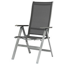 Buy KETTLER Milano Reclining Dining Armchair, Graphite Online at johnlewis.com