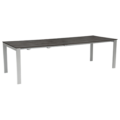 KETTLER Milano 8 - 10 Seater Extending Dining Table, Graphite