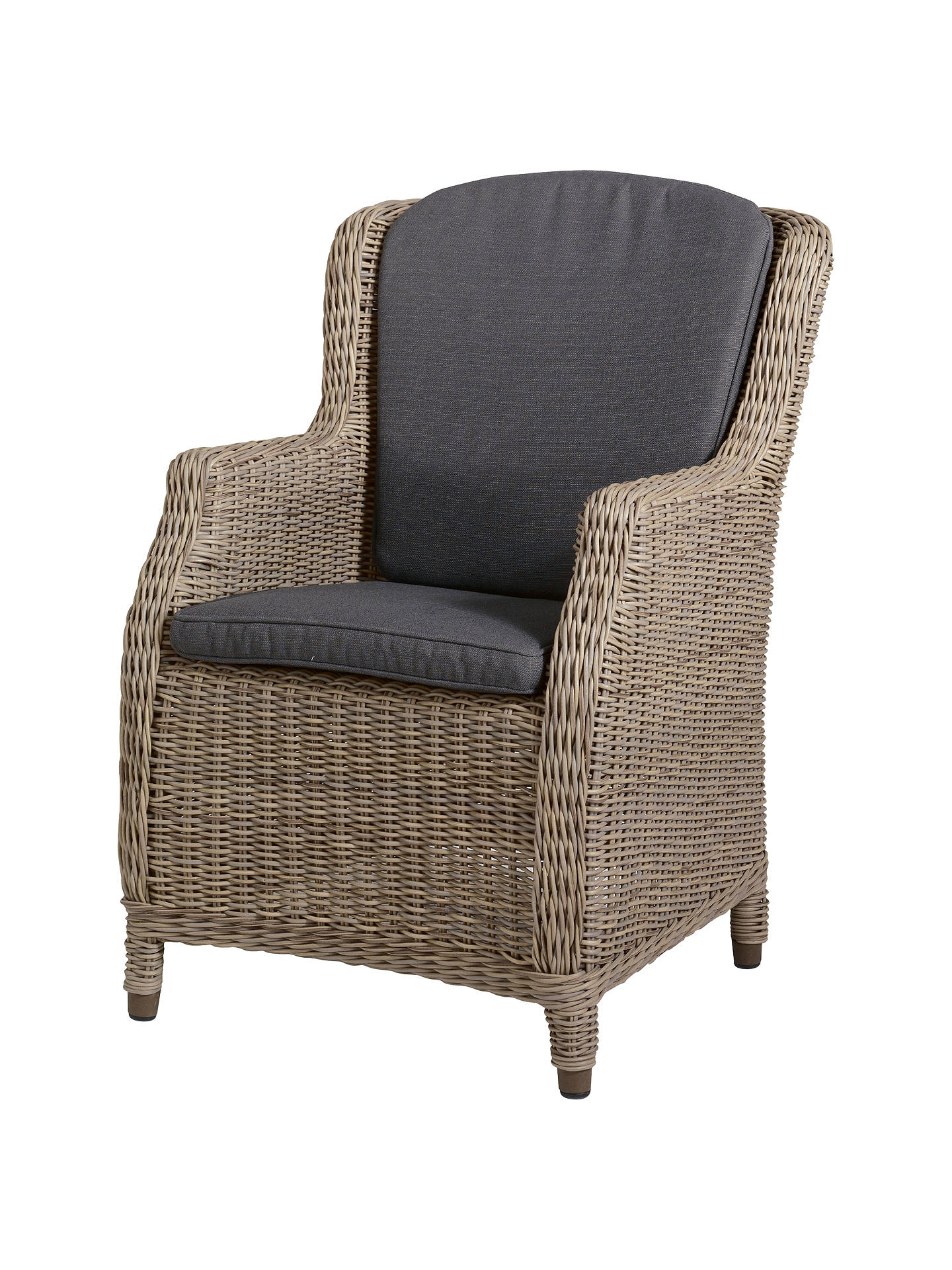 Buy4 Seasons Outdoor Valentine High Back Garden Chair, Pure Online at johnlewis.com