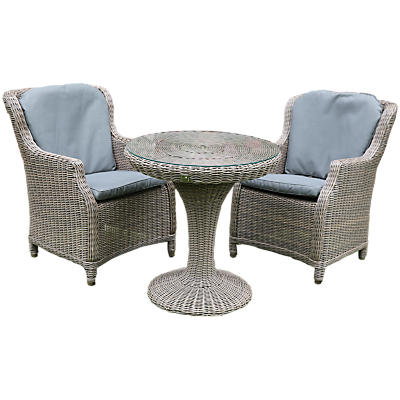 4 Seasons Outdoor Valentine High Back Garden Bistro Set