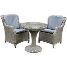 Buy 4 Seasons Outdoor Valentine High Back Bistro Set Online at johnlewis.com