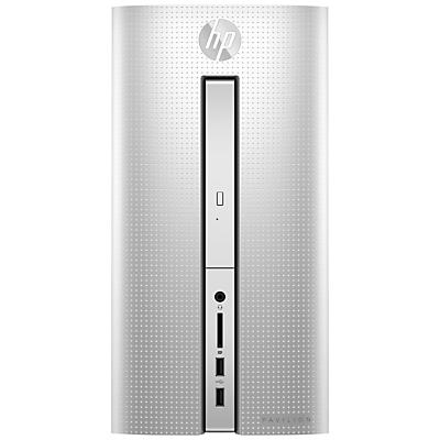 HP Pavilion 510-p150na Desktop PC, Intel Core i5, 8GB RAM, 2TB, Natural Silver