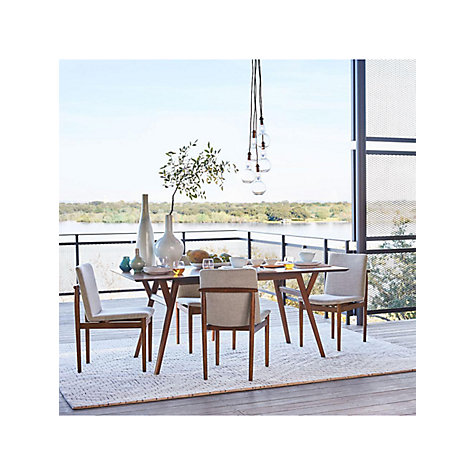 Buy West Elm Mid Century Extending Dining Table Online At Johnlewis