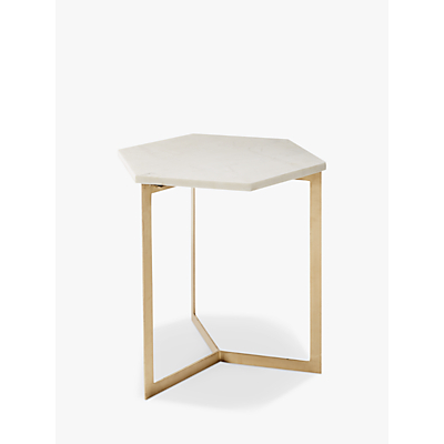 west elm Hex Side Table