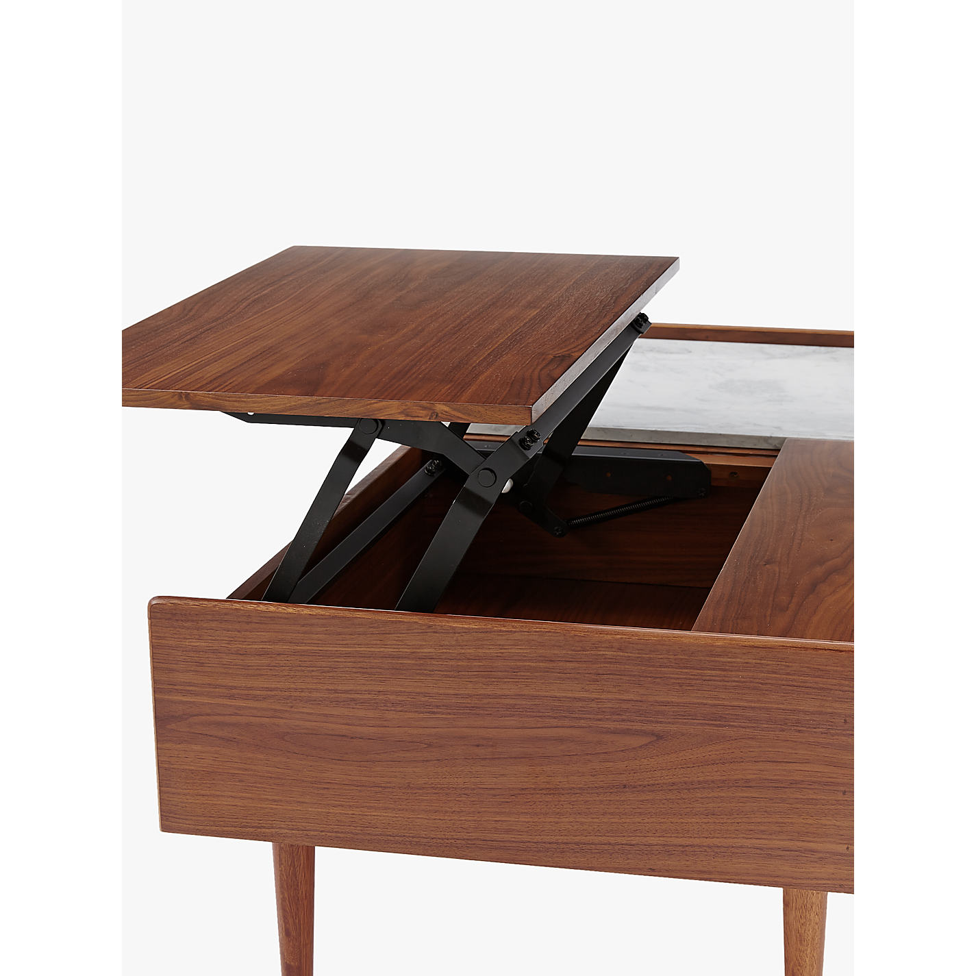 Buy west elm mid century pop up storage coffee table john lewis buy west elm mid century pop up storage coffee table online at johnlewis geotapseo Image collections