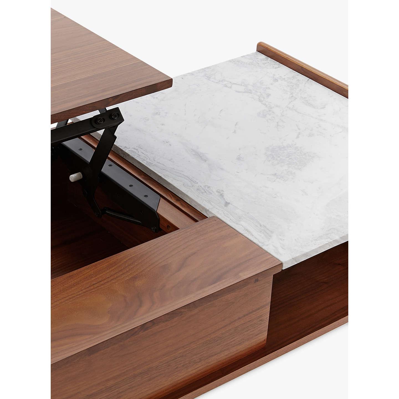 West Elm Mid-Century Pop-Up Storage Coffee Table At John Lewis