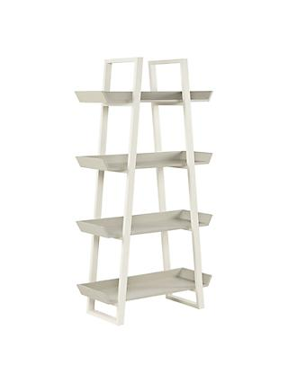 House by John Lewis Airframe Tall Bookcase, Grey