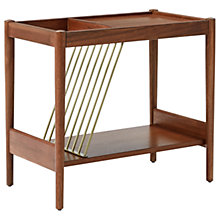 Buy west elm Mid-Century Magazine Side Table Online at johnlewis.com