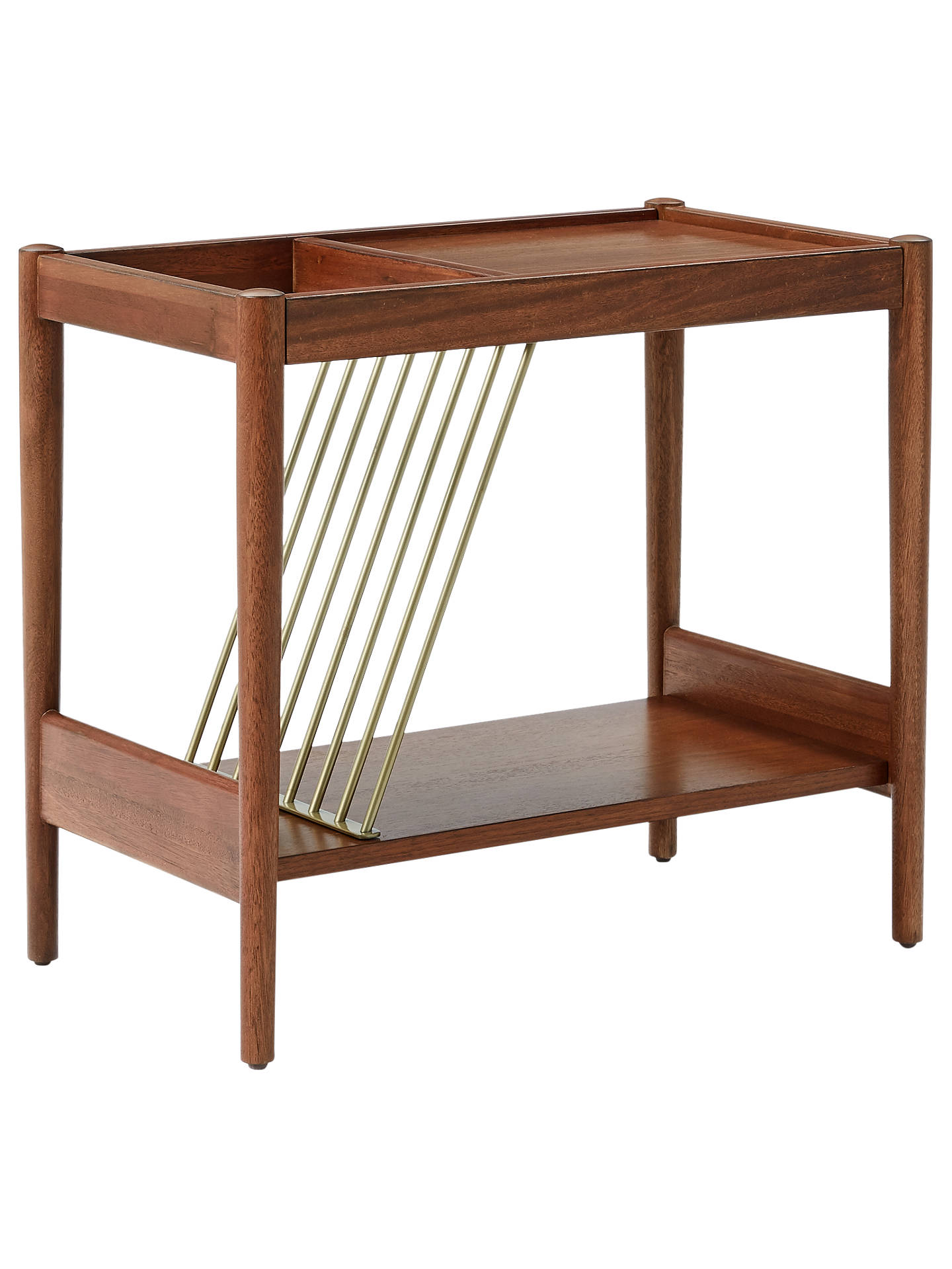 West Elm MidCentury Magazine Side Table At John Lewis Partners - West elm mid century side table