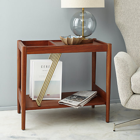 buy west elm midcentury magazine side table online at
