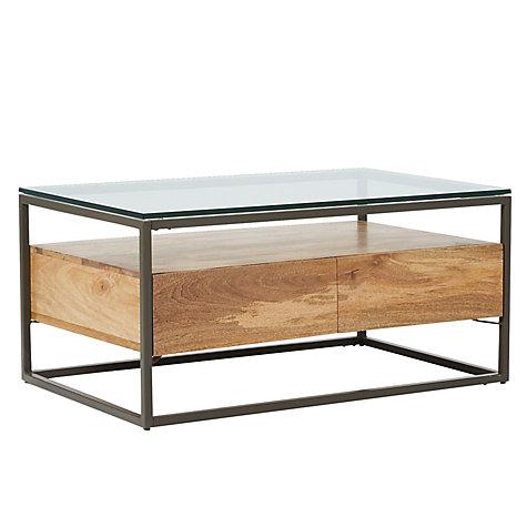 Buy West Elm Industrial Storage Box Frame Coffee Table