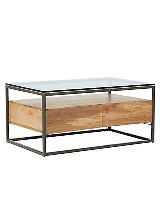 Stupendous West Elm Industrial Storage Box Frame Coffee Table Dailytribune Chair Design For Home Dailytribuneorg