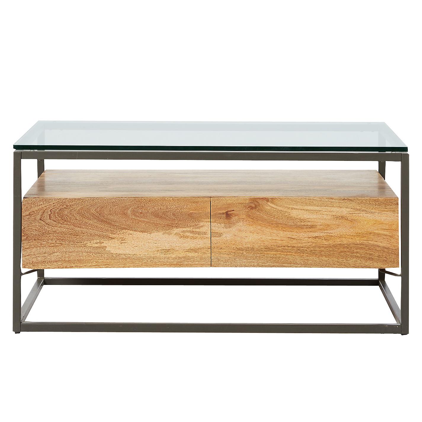 Buy west elm industrial storage box frame coffee table john lewis buy west elm industrial storage box frame coffee table online at johnlewis geotapseo Gallery