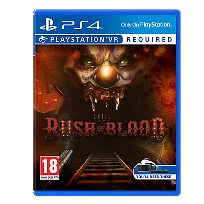 Image of Until Dawn: Rush Of Blood PS VR Game for PS4