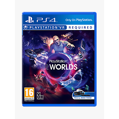 VR Worlds PS VR Game for PS4