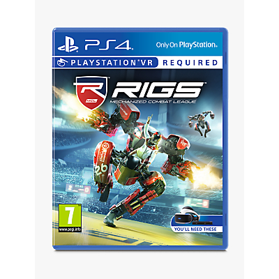 RIGS Mechanised Combat League PS VR Game for PS4