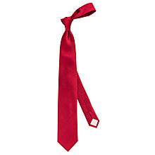 Buy Thomas Pink Barton Plain Woven Silk Tie Online at johnlewis.com