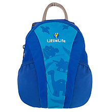 Buy LittleLife Toddler Dinosaur Backpack, Blue Online at johnlewis.com