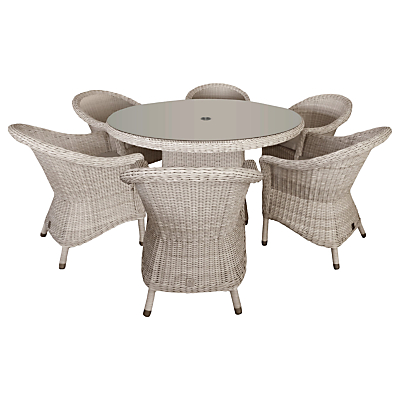 4 Seasons Outdoor Valentine 6 Seater Garden Dining Set