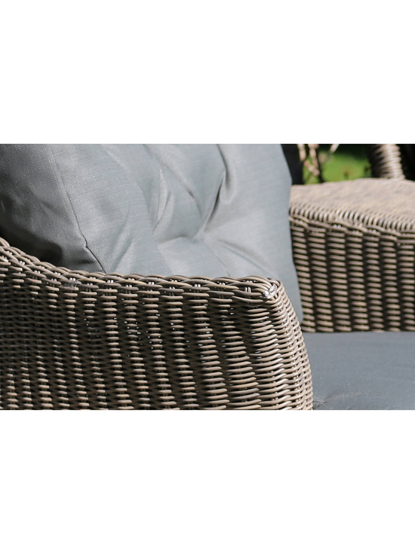 Buy 4 Seasons Outdoor Valentine Low Back Garden Armchair, Pure Online at johnlewis.com