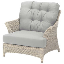 Buy 4 Seasons Outdoor Valentine Low Back Garden Armchair Online at johnlewis.com